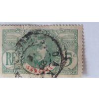Франция 1906  ж/д марка