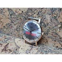 Часы Луч,позолота au12.5,юбилейные,редчайшие в таком состоянии.Старт с рубля.