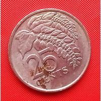 06-29 Тринидад и Тобаго, 25 центов 1999 г.