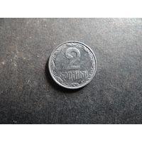 2 КОПЕЙКИ 2007 УКРАИНА (Е075)