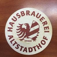Подставка под пиво Hausbrauerei Altstadthof