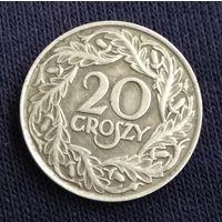 20 грошей   1923 Польша ( Rzeczpospolita Polska )
