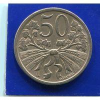 Чехословакия 50 геллеров 1922