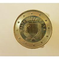 Мальта 10 евроцентов 2016 UNC из ролла
