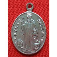 Католический образок(15). Первая половина 20-ого века