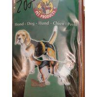 Штанишки-трусы  гигиенические  (черные) 40-49 см рост собаки