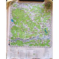 ПЕТРИКОВ, карта 40х53 см.