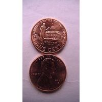 Коллекция = Один / 1 / цент США, Профессиональная жизнь Линкольна.(Третья монета) Цент 2009 года в честь 200-летия Линкольна   распродажа