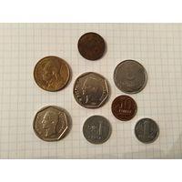Монеты и жетон одним лотом