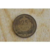 Турция 25 курушей 1948 с 1 руб