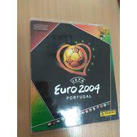 Полностью собранный журнал наклеек PANINI Чемпионат Европы 2004