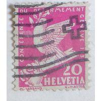 Голубь мира на сломанном мече. Швейцария. Дата выпуска:1932-02-02