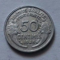 50 сантим, Франция 1945 г.