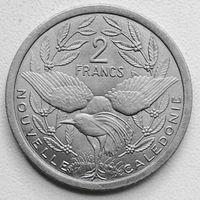 Новая Каледония 2 франк 1977