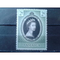 Ямайка 1953 Коронация Елизаветы 2**