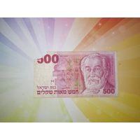 Израиль 500 шекелей 1982г