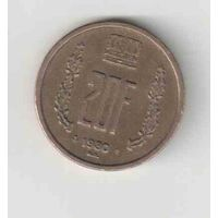 20 франков 1980 года Люксембурга 35