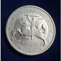 50 евроцентов 2015 Литва