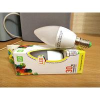 Лампочка светодиодная ASD 3,5 Вт (30 Вт), 3000к