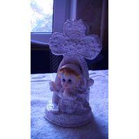 Статуэтка, крест и маленький ангел. No1 распродажа