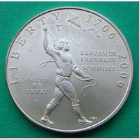 1 доллар 2006 Franklin.