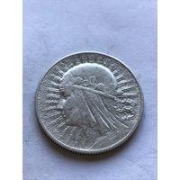 5 злотых 1932 - c  1 рубля