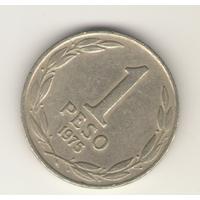 1 песо 1975 г.