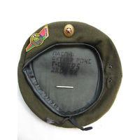 Берет спецназа МВД РБ серо-зелёный. 2007 г.