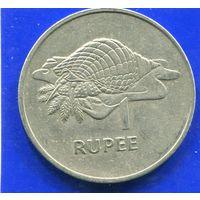Сейшельские острова 1 рупия 1977, большая