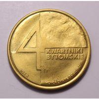 Польша, 4 Дуката (4 Kwartniki Bytomskie) 2008 год, (тираж 20.000 экз.)