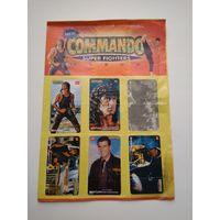 Альбом для наклеек Командо из 90-х Commando