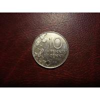 10 пенни 2000 год Финляндия