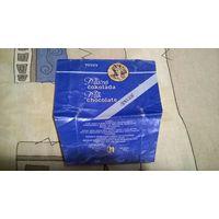 Обертка от Молочного шоколада Tuzex Special 100гр. Чехословакия 1980-е года