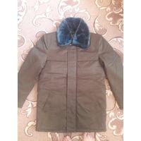 Куртка зимняя военная с воротником
