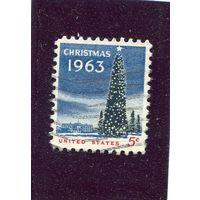 США. Новый год 1963