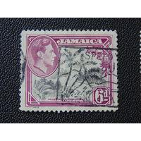 Английская Ямайка 1938 г. Флора.