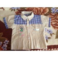Рубашка р.92-98
