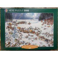 Пазл HEYE Napoleon's Winter 2000