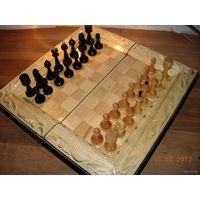 Шахматы резные большие. Ручная работа