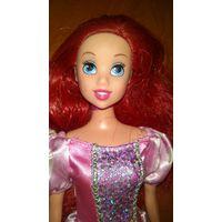 Кукла принцесса Ариэль в розовом платье Маттел