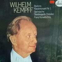 J. Brahms /Konzert for Klavier and Orchester 1/1972, Heli, LP, NM, German