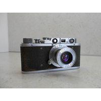 Фотоаппарат ФЭД 1954 г. с объективом Индустар-10 (ФЭД) после полного сервиса