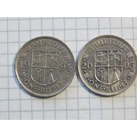 Маврикий 1 рупия (список)