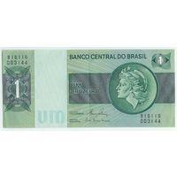 Бразилия 1 крузейро 1972-80 годы