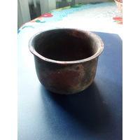 Ступка-чашка медная