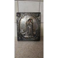 Икона Святой Трифон. Оклад серебро 84