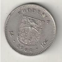 Родезия 1 шиллинг 1964