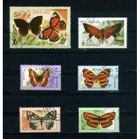 Лаос 1982г. бабочки, 6м.