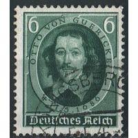 1936 - Рейх - 250 летие смерти Герика Mi.608
