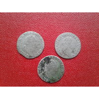 Пруссия 3 гроша 1780,82,86 г.